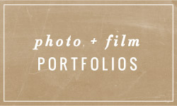 Photo + Film Portfolios